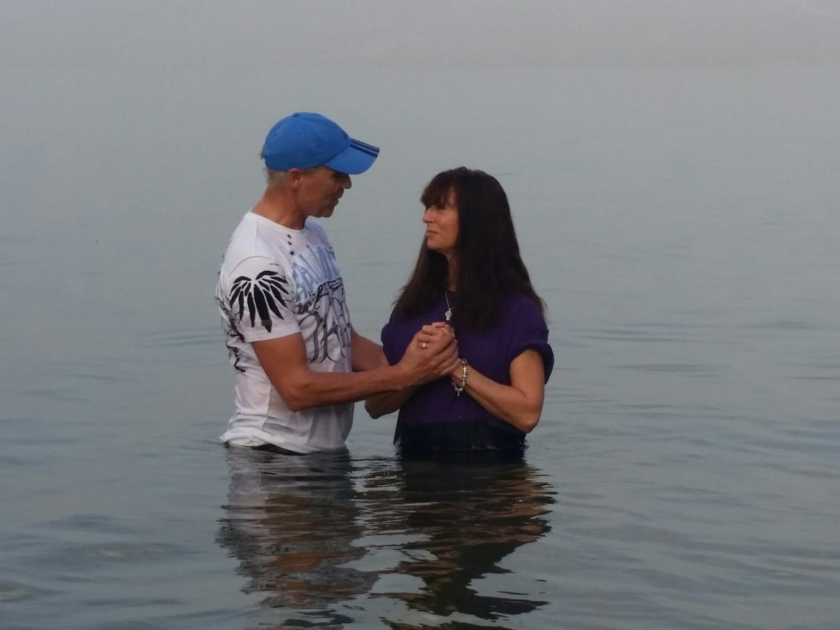 Baptism at the Sea of Galilee