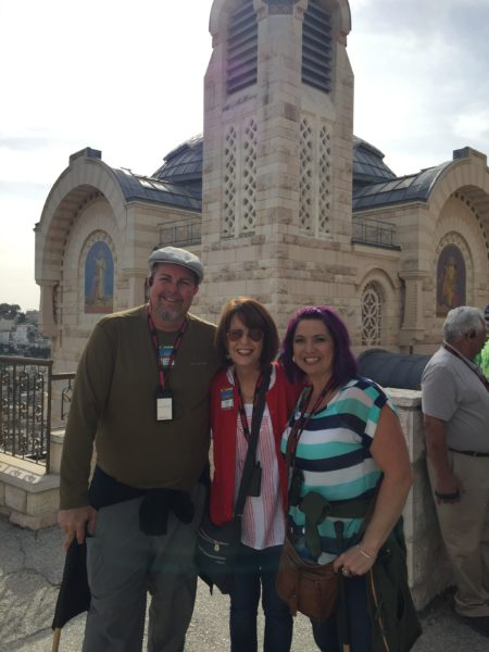 Touring Old Jerusalem with Bus 1 today. What a treat!